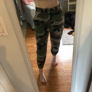 Vintage camp pants from Urban Outfitters
